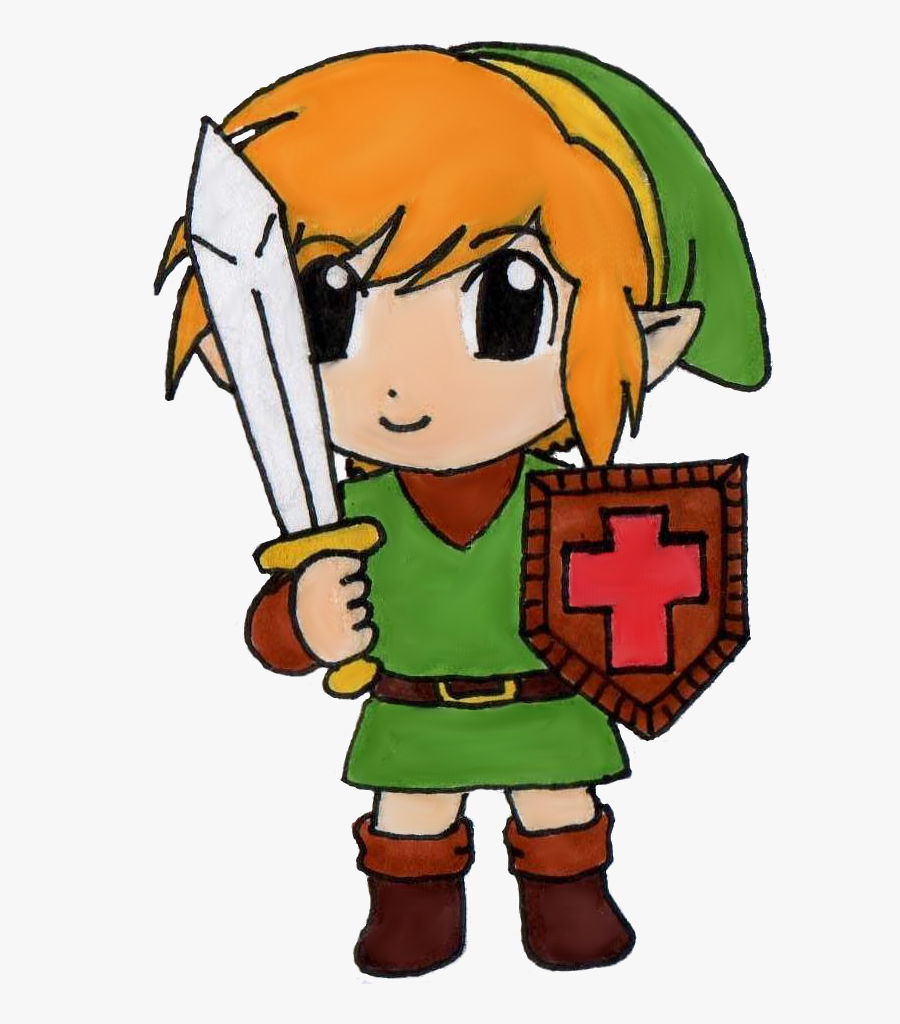 Legend Zelda Clipart Classic 113424 - Legend Of Zelda Link Nes, Transparent Clipart
