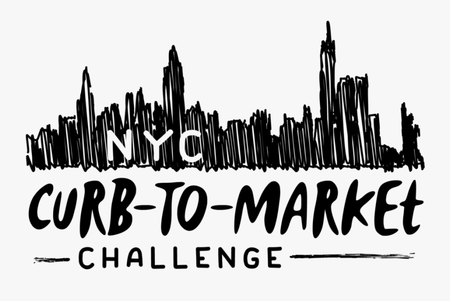 Nyc Curb To Market Logo - Nyc Curb To Market Challenge, Transparent Clipart