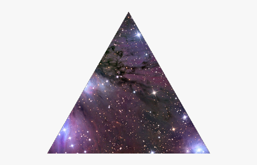 Clip Art Triangle Tattoo Alicewell Transprent - Galaxy Triangle Png, Transparent Clipart