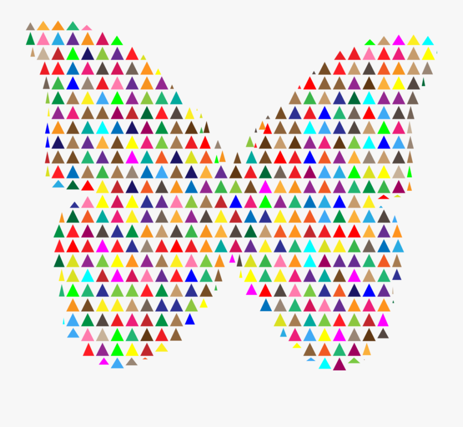 Triangle,symmetry,area - Clip Art, Transparent Clipart