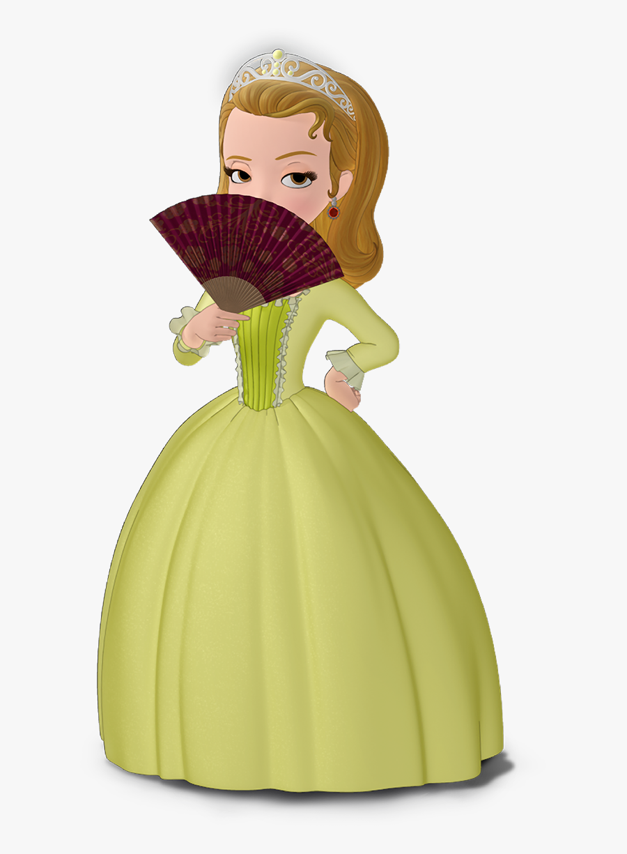 Sofia The First Amber Fan , Png Download - Princess Amber From ...