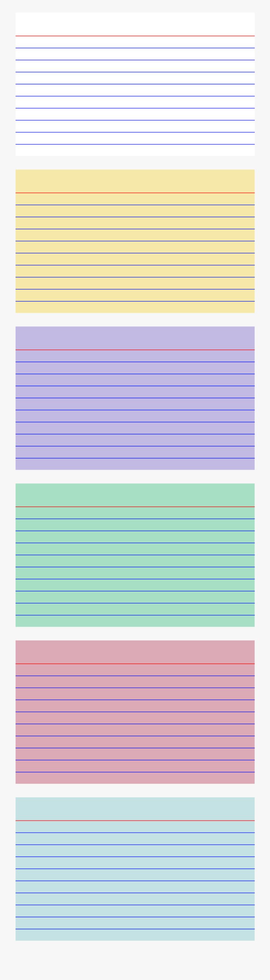 Index Card Png, Transparent Clipart