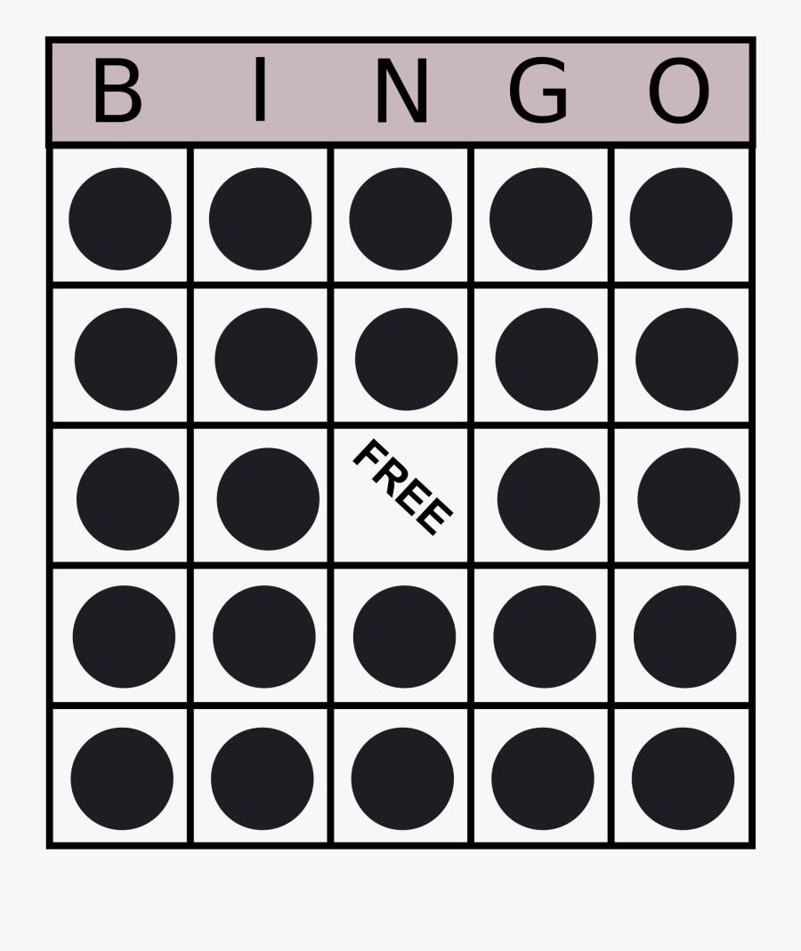 Bingo Card Clip Arts - Bingo Clipart, Transparent Clipart