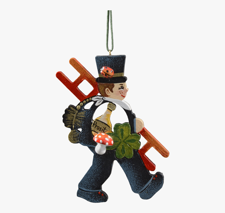 Lucky Chimney Sweep - Porte Bonheur En Allemagne, Transparent Clipart