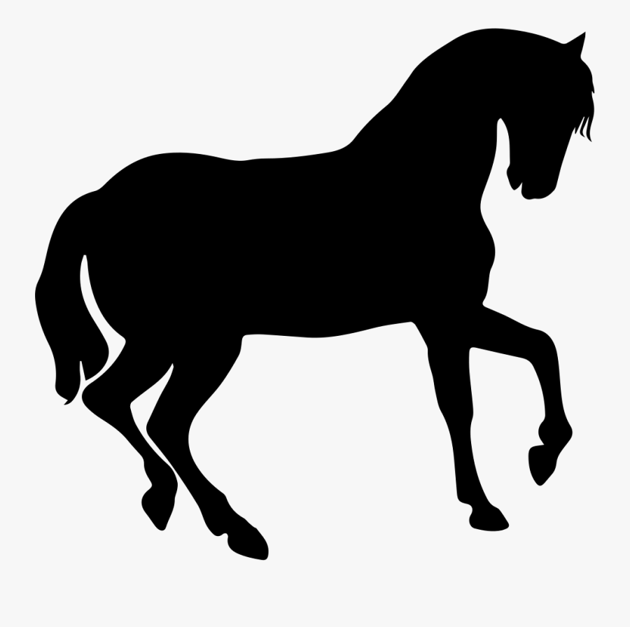 Transparent Horse Icon Png - Pumpkin Carving Template Unicorn, Transparent Clipart