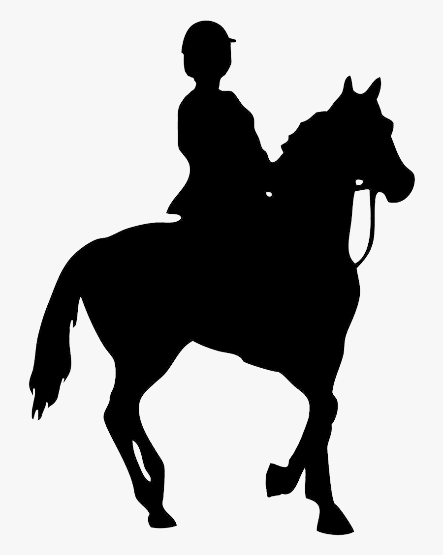 Horse Riding Clipart Saddle Horse And Rider Silhouette Png Free Transparent Clipart Clipartkey