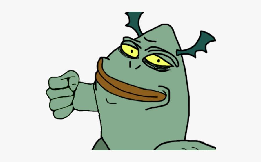 Evil Pepe Png, Transparent Clipart