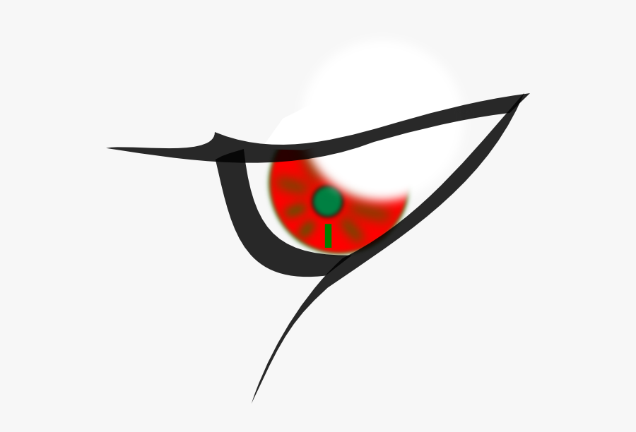 Cartoon Evil Eyes Clipart , Png Download - Evil Eye Transparent Background, Transparent Clipart