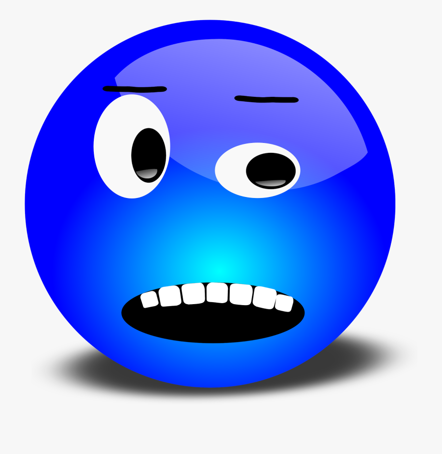 Annoyed Face Clip Art Ourclipart Png - Animated Moving Smiley Face, Transparent Clipart