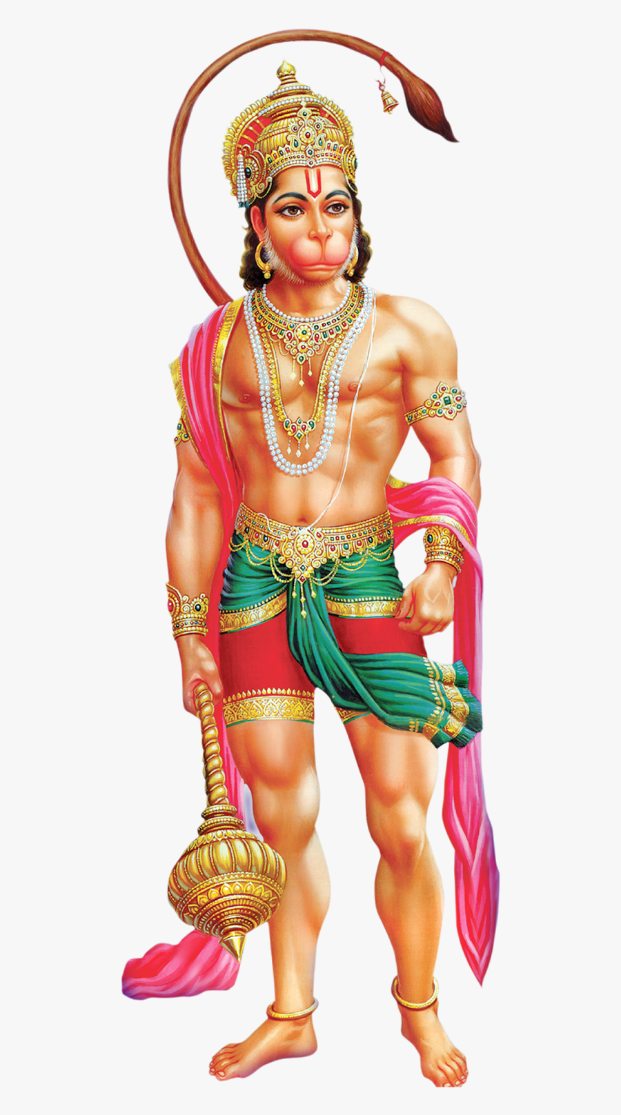 Hanuman Transparent Background - Bajrang Bali Hanuman Png, Transparent Clipart