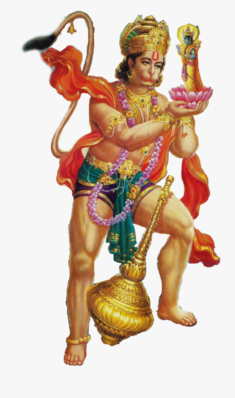 Hanuman Png Free Background - Hanuman Ji Png Full Hd, Transparent Clipart