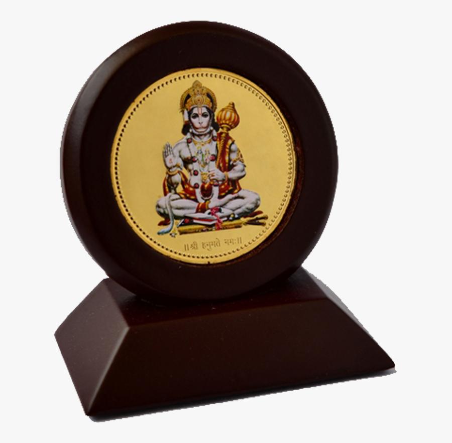 Car Hanumanji Round Meenakari - Hanuman Ji, Transparent Clipart