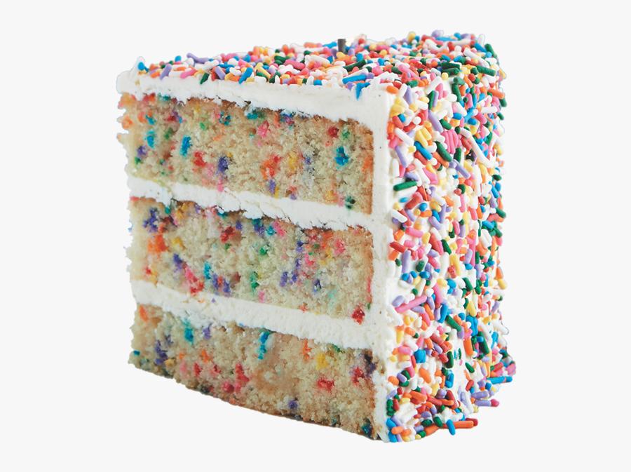 Transparent Sprinkles Confetti - Happy Birthday Rainbow Cake, Transparent Clipart