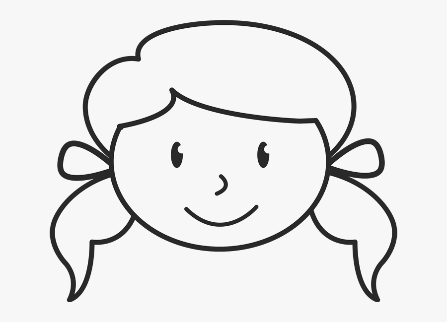 Stick Figure Face Png Girl Face Clipart Black And White Free Transparent Clipart Clipartkey