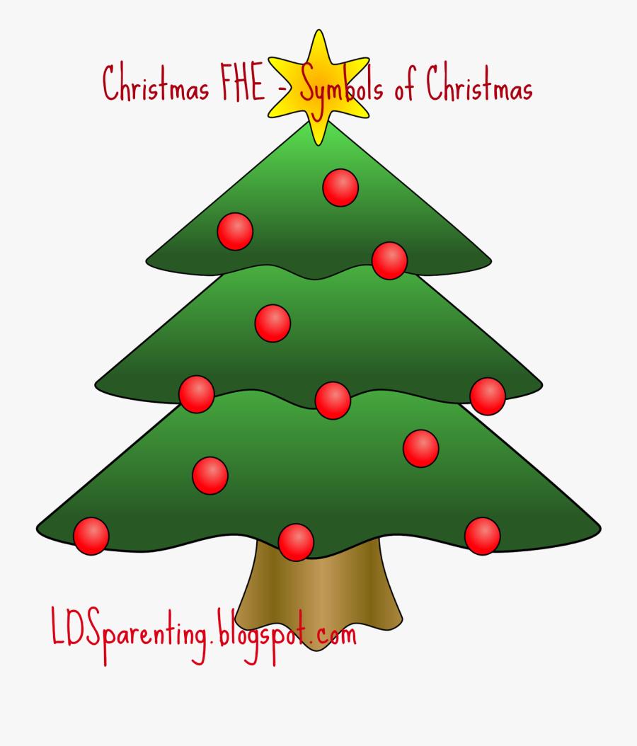 Transparent Quadruplets Clipart - Christmas Tree Cartoon, Transparent Clipart