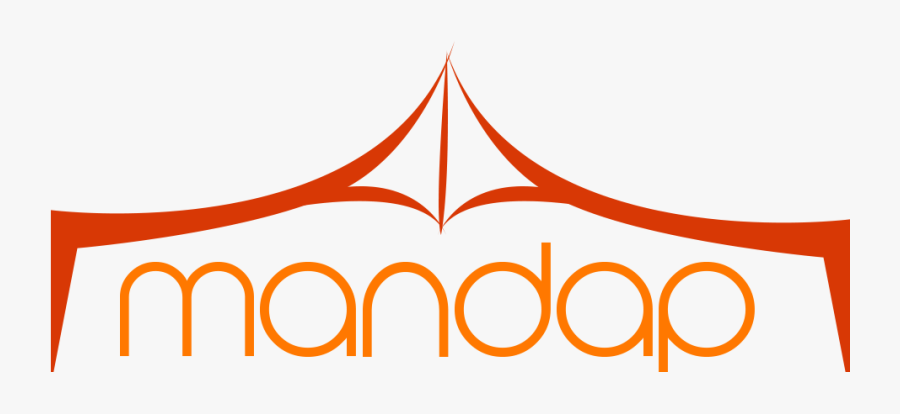 Utsav Mandap - Mandap Logo, Transparent Clipart