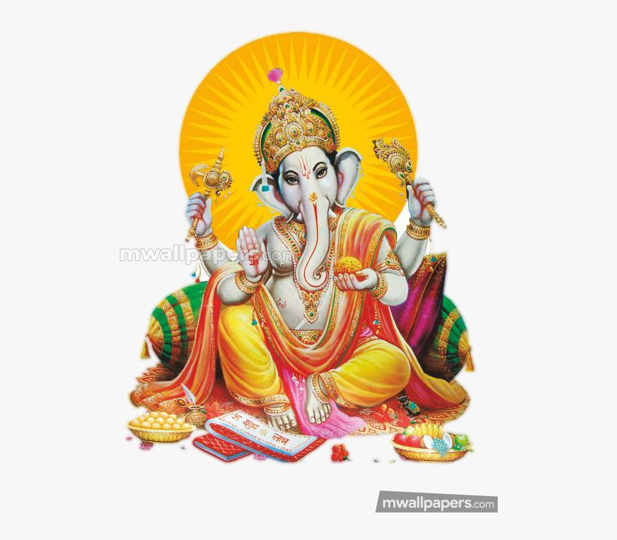 Transparent 1080p Png Wallpaper - Ganesh Chaturthi Png, Transparent Clipart