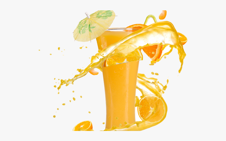 Cold Drink Images Png - Orange Juice Hd Png, Transparent Clipart