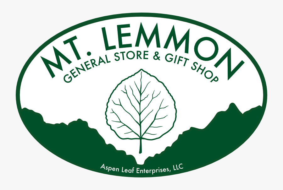 Cropped Mt Lemmon General Store Logo Website - Mt Lemmon General Store & Gift Shop, Transparent Clipart