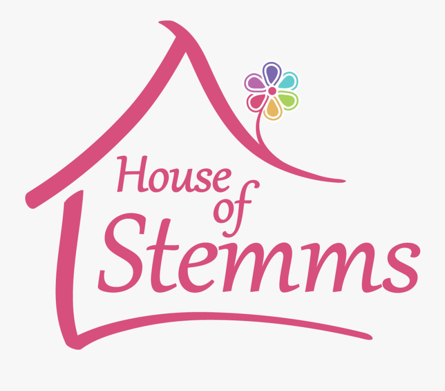 House Of Stemms - Flower House, Transparent Clipart