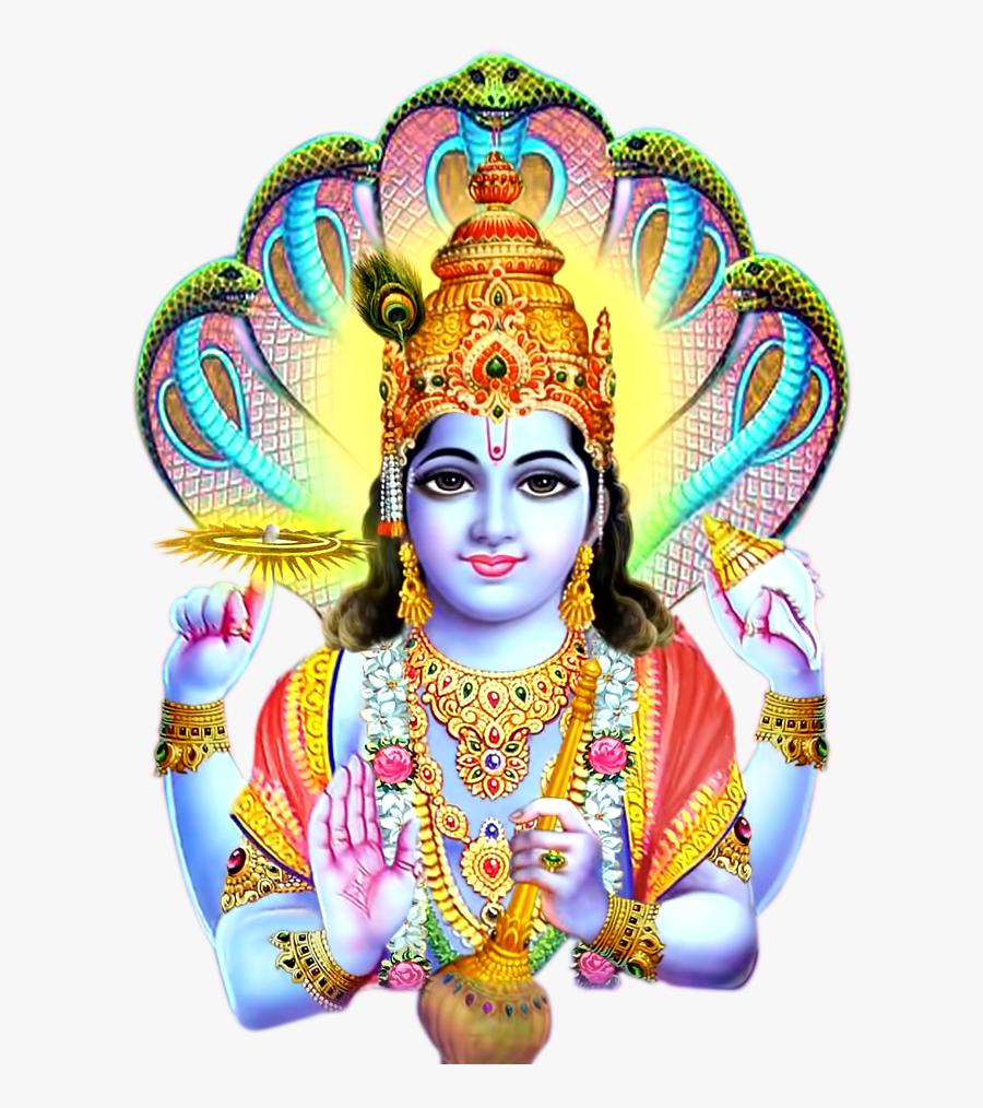 Lord Vishnu Images Png, Transparent Clipart