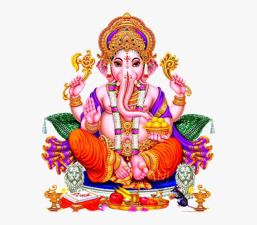 Jai Ganapati, Transparent Clipart