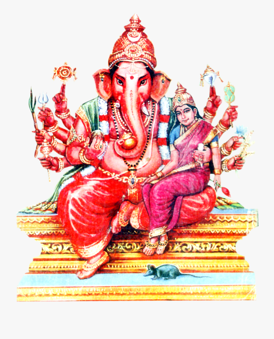 Laxmi Ganapathi Png Images Hd Wallpapers Pics Photos - Ganesha Gowri Festival Wishes, Transparent Clipart