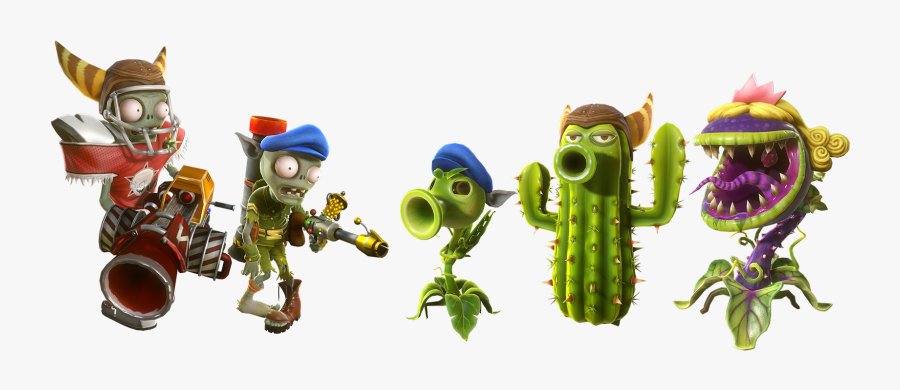 Plants Vs Zombies Png - Plants Vs Zombies 2 Ps4 Characters, Transparent Clipart