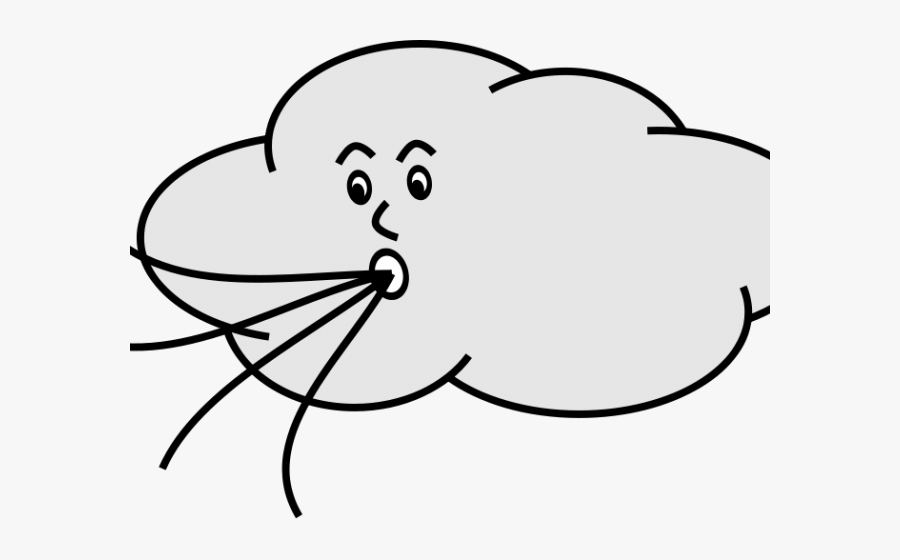Wind Blowing Gif Cartoon, Transparent Clipart