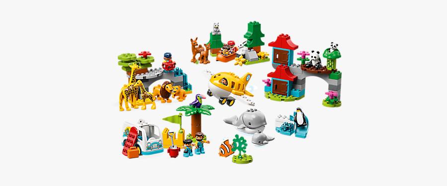 Lego Duplo World Animals 10907, Transparent Clipart