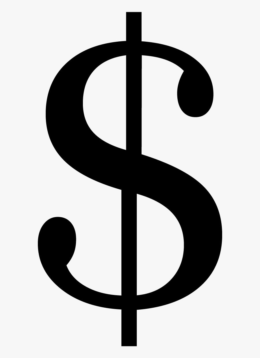 Dollar Sign Icon Transparent Background - Kawaii Money Bag Png, Transparent Clipart