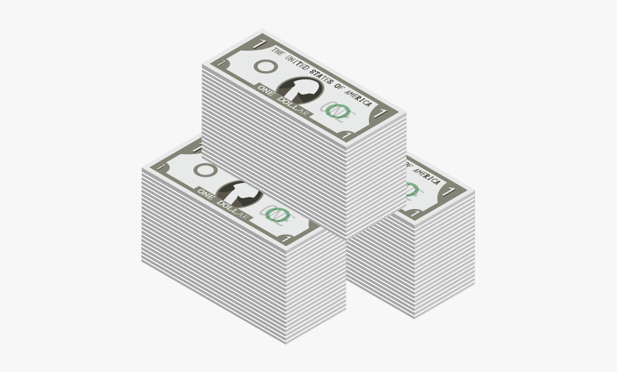 United Banknote Bill Dollar One-dollar One States - Box, Transparent Clipart