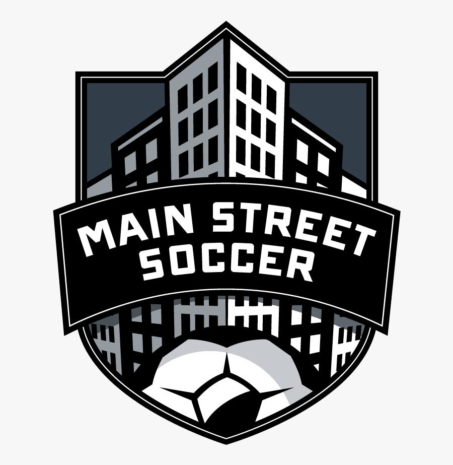Main Street Soccer Winter Camp - Main Street Soccer Houston Logo, Transparent Clipart