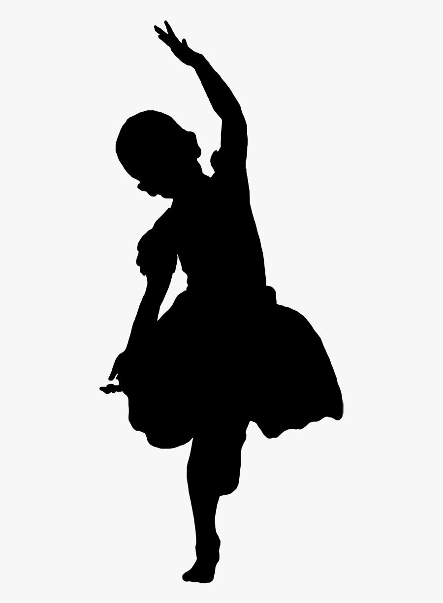 Girl Silhouette Transparent Clip Art, Transparent Clipart