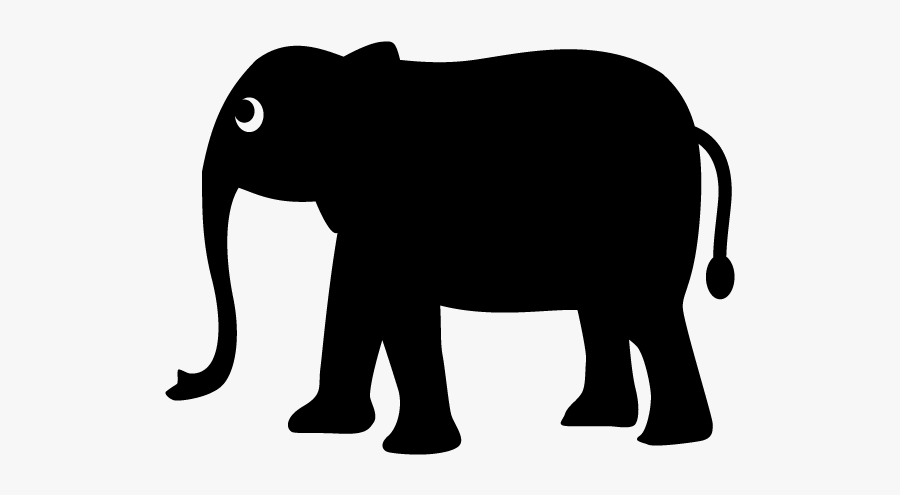 Elephant Marking On Map, Transparent Clipart