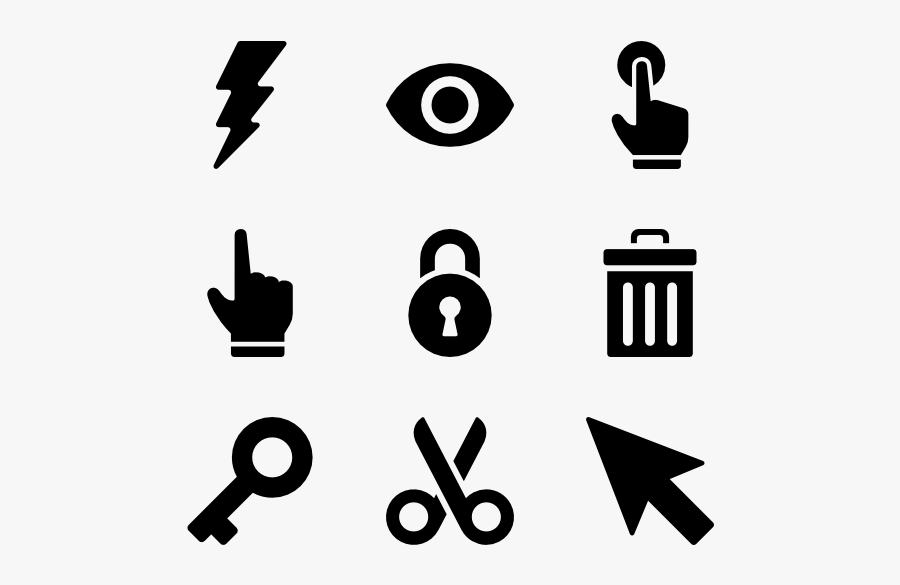 Computer Mouse Icons - Icon เมาส์, Transparent Clipart