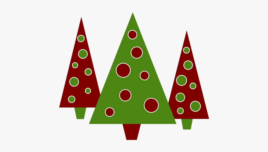 Christmas Holiday Clipart Kid Transparent Png - 3 Christmas Trees Clipart, Transparent Clipart