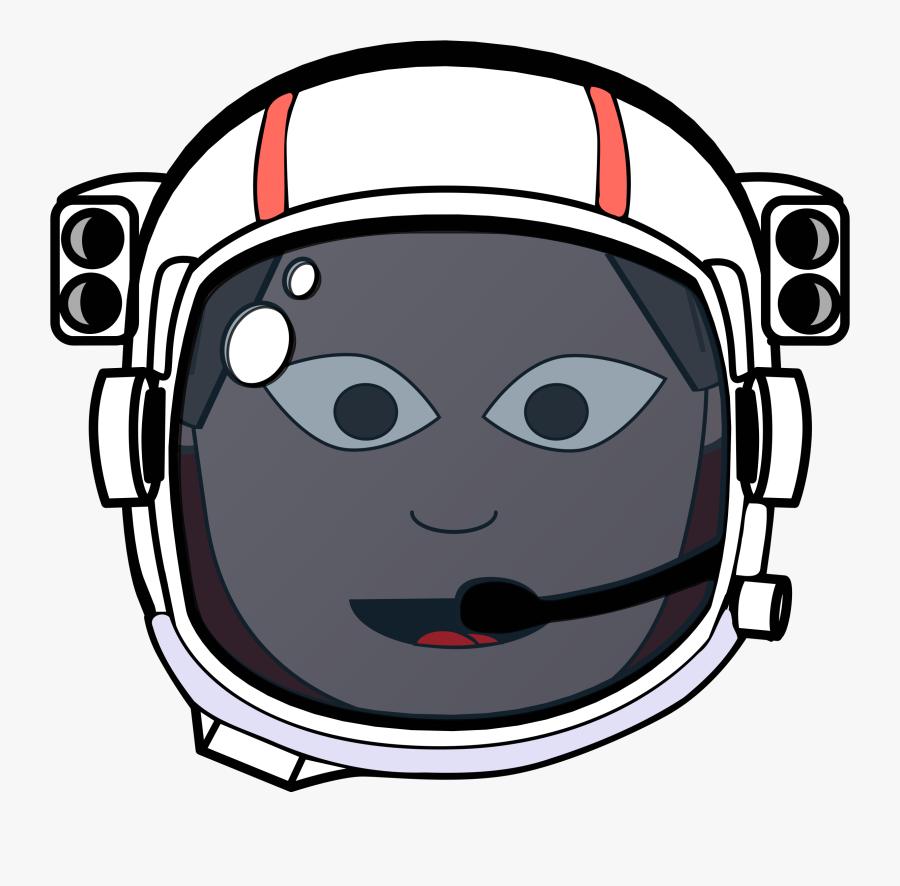 Astronaut Helmet Space Free Picture - Astronaut Helmet Transparent Background, Transparent Clipart