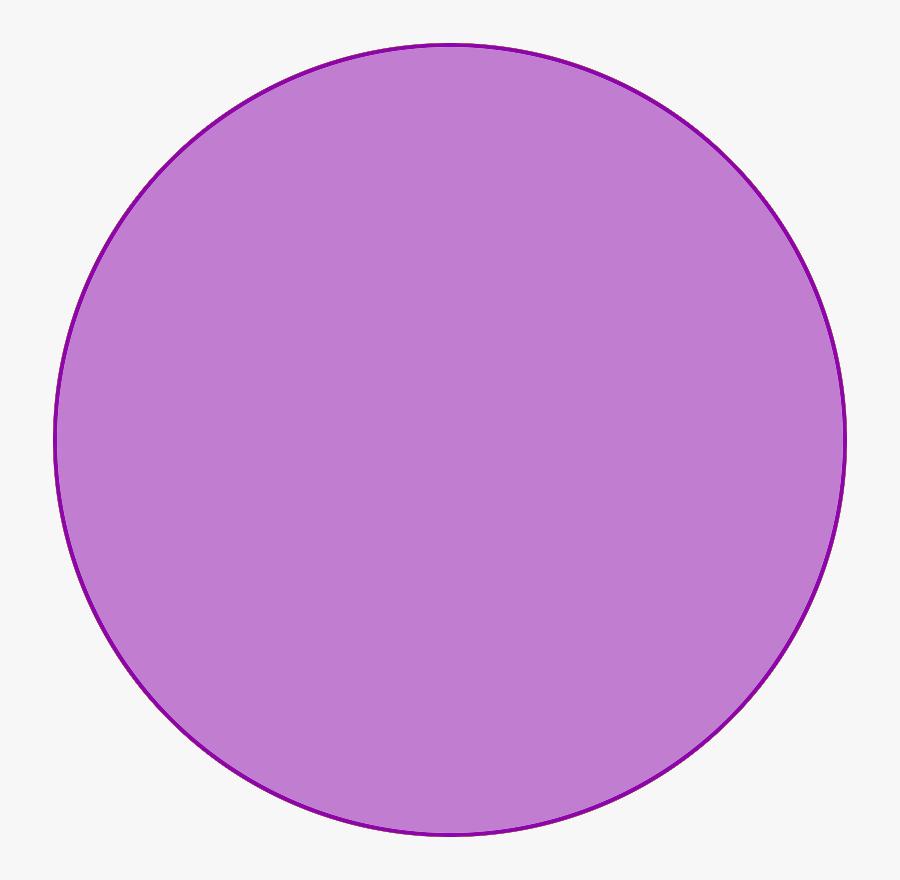 Purple Easter Egg Clipart - Purple Circle Clip Art, Transparent Clipart