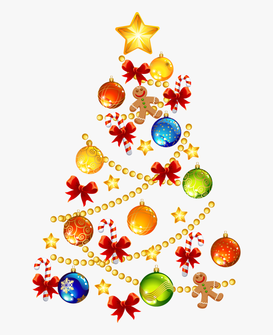 Pin By T E - Christmas Tree, Transparent Clipart