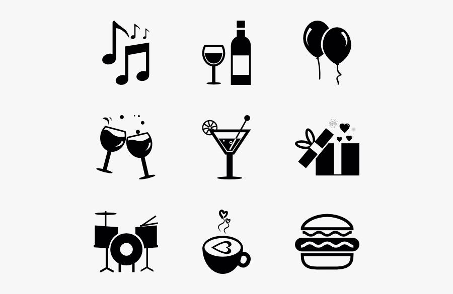 Celebrations - Celebration Icon Transparent Background, Transparent Clipart