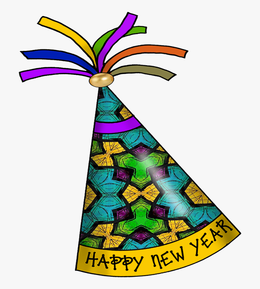 Party Hat Clip Art Free Cliparts That You Can To Transparent - Happy New Year Party Hat, Transparent Clipart