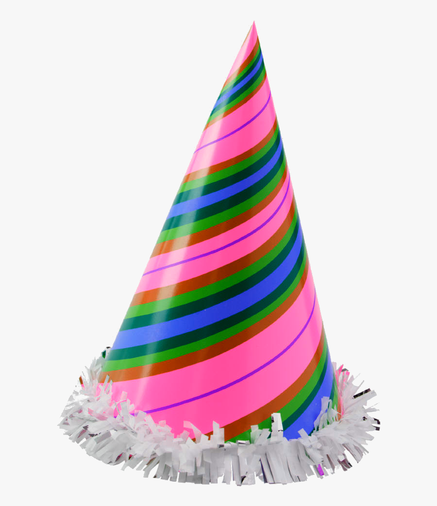 Clipart Hat New Years Eve - Transparent Background Birthday Hat, Transparent Clipart