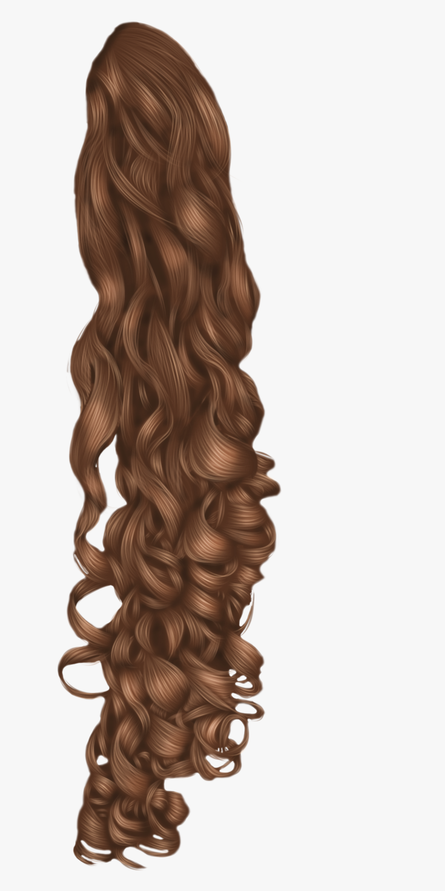 Black Hair Wig Hairstyle - Transparent Curly Hair Png, Transparent Clipart