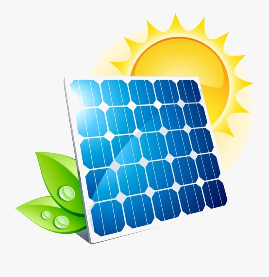 Panels Potential Energy Green - Battery Storage Of Solar Power, Transparent Clipart
