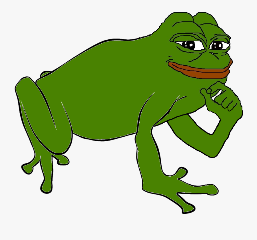 Green,frog,clip Art,hyla,true Frog,shrub Frog,tree - Pepe The Frog Full Body, Transparent Clipart