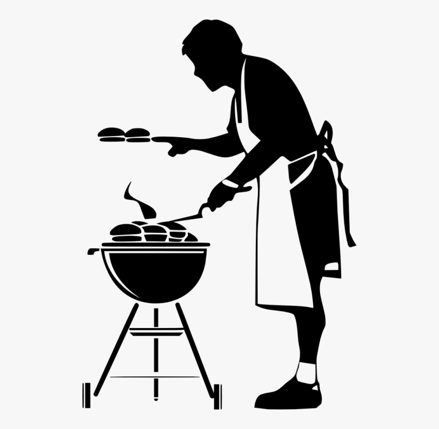 Barbecue Clipart Black And White - Bbq Grill Clipart Black And White, Transparent Clipart