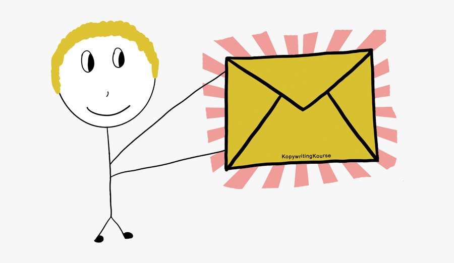 Getting A Piece Of Mail - Email Lists, Transparent Clipart