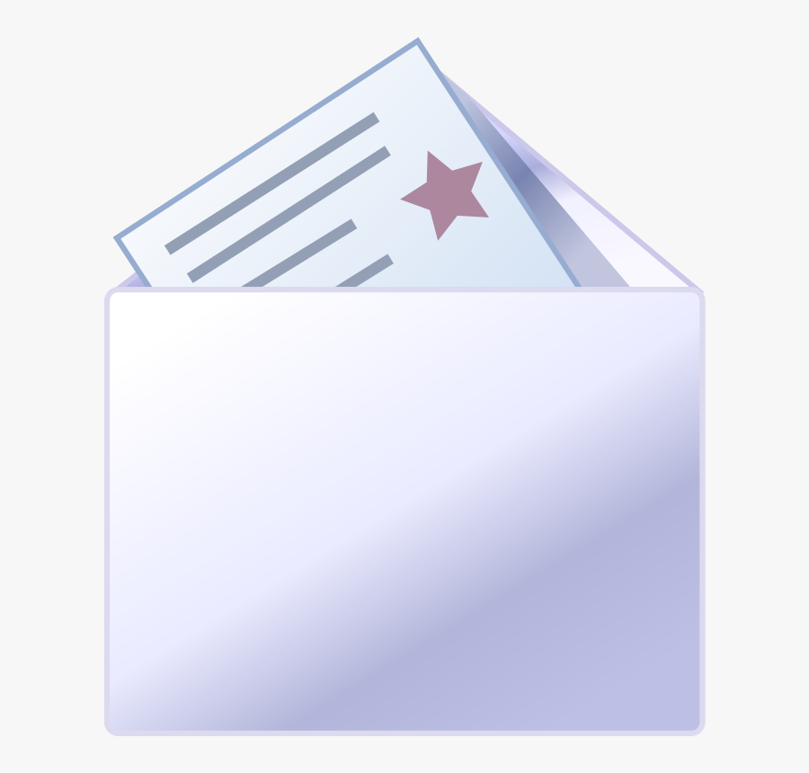 Bb Mail New - Flag, Transparent Clipart