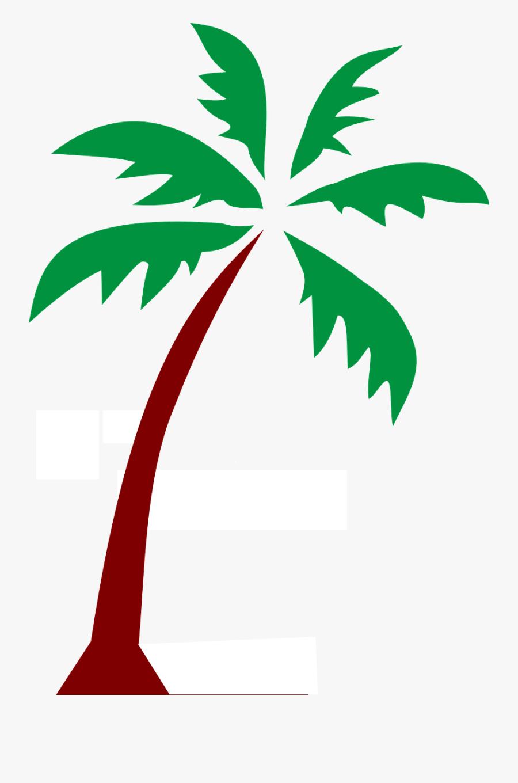 Island Palm Fronds Tree Png Image - Public Domain Palm Tree, Transparent Clipart